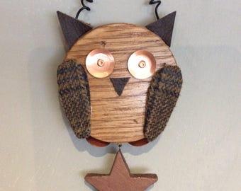 Tweed twoo!!! Ollie owl