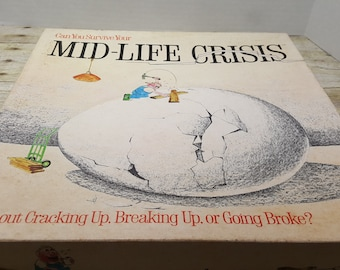 Mid Life Crisis, 1982, vintage board game