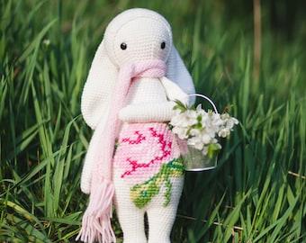 Easter Rabbit inspired by Lalylala / Crochet Doll / Handmade Amigurumi / Amigurumi animal / Easter Bunny