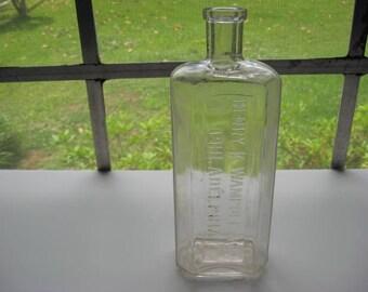 Henry K. Wampole & Co. Inc. Philadelphia, medicine bottle, antique bottle, vintage bottle, old bottle, collectible, home decor