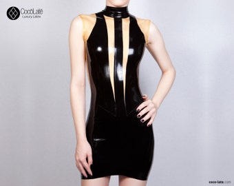 W Latex Dress