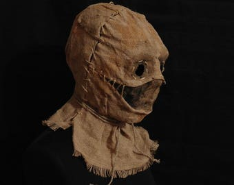 "Mask Scarecrow ""Mouth"", horror, halloween, masquerade, free shipping"