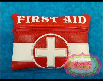 LINED 6x10 First Aid Zip Bag