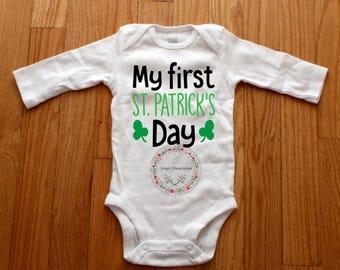 Saint Patricks Day Bodysuit