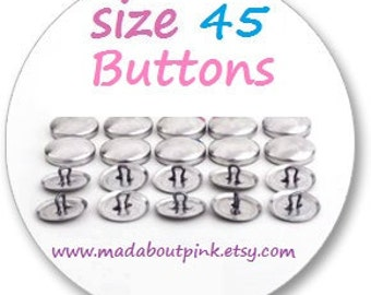 Size 45 - Cover button 20pcs/pack