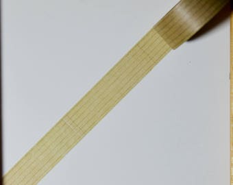 "Masking tape - pattern ""Line notebook"" - 1.5 cm x 10 m"