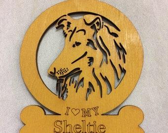 Sheltie Dog Ornament