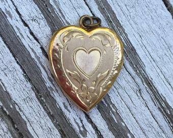 10kt gold locket