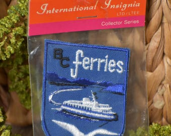 Vintage British Colombia Travel Patch