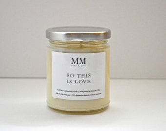 SOTHIS ISLOVE // 9oz // natural soy candle // hand-poured // small batch