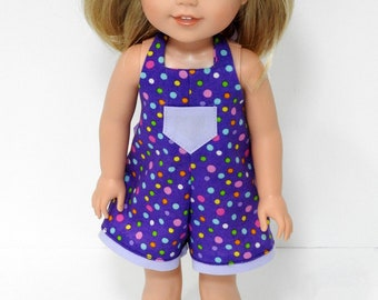 14.5 Inch Doll Handmade Romper fits Wellie Wishers Doll