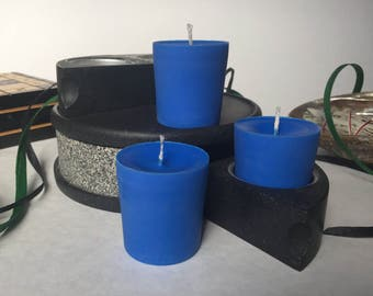 Blueberry Scented Soy Wax Votives