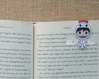 Magnetic Bookmarks • Marshmallow Onesie