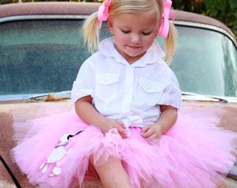 Pink Poodle Tutu for Baby Toddler