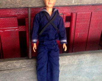 Ideal Ted 1962 12 1/2 inches Tall |  Ideal Ted as Sailor |  Ideal Doll Vintage