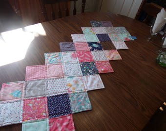 Quilted Table Runner/Thinking Spring