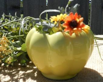 Vintage Scalloped Vase or Planter