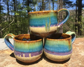 Ceramic Raimboe Mugs - Ocean Love