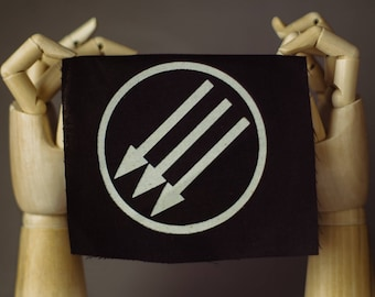 Iron Front Patch | Punk patch | Screen print | Patches for Jackets | Metal patch | Vegan Patch | Antia Patch | Anarchy Patch | Custom Patch