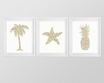 """ANY 3 8x10"""" Watercolor Art Prints from my Shop"""