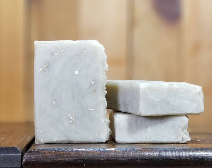 Get the Crud Out Oily Skin Soap --  Lavender, Tea Tree, Green French Clay, All-Natural, Handmade, Vegan, Oily Facial Soap, Free Shipping