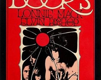 The Doors Jim Morrison Concert Poster Framed Highest Quality