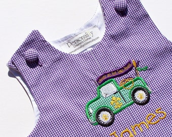 Mardi Gras Truck Jon Jon Personalized for Boys