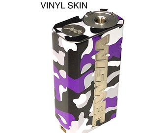 Wismec Luxotic BF Skin Purple Camo by Jwraps