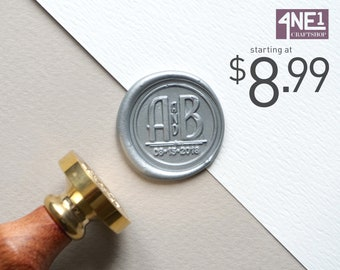 Customized Wax Seal Stamp - Design005