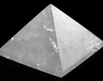 "Quartz Pyramid 25-30mm 1""-1 1/4"""