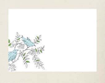 Bird Stationery
