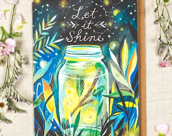 Let it Shine - Greeting Card
