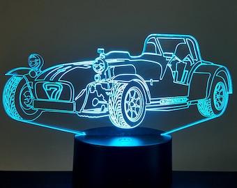 Lamp 3D pattern: Caterham