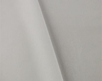 White Matte Jersey, Fabric By The Yard