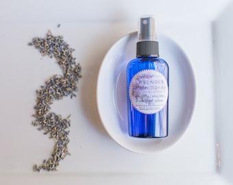 Lavender Linen Spray - Pillow Spray -  Pillow Mist - Calming Room Spray - Lavender Facial Toner - Sleep Spray - Travel Pillow Spray