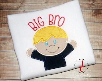 Big Brother Shirt -  Coordinating Sibling Outfits, Big Brother Little, Big Brother Announcement, Big Brother Gift, Big Brother tshirt, M2M
