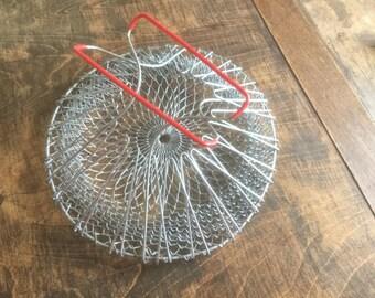 Expandable Wire Basket, Egg Basket, Fruit Basket, Vegetable Basket, Kitchen Basket, Kitchen Decor, Kitchenware
