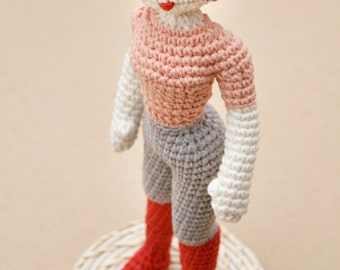 Doll Crochet Pattern, Girl Crochet Pattern, Miette Fashion Doll Amigurumi pattern, crochet for girls, toy pattern, home decor