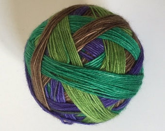 To order sock yarn: 'Picking Berries' (4 colours, self striping)