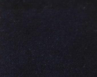 KNIT Fabric: Solid Navy Cotton Lycra knit