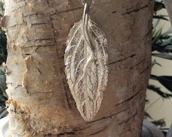 Handmade Fine Silver Pendant
