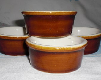 Chalkware Dessert Cups by H.F. Coors