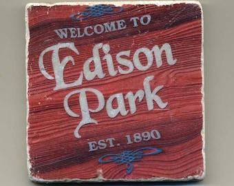 Edison Park - Original Coaster