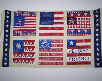 American Dreams Collection - Welcome Friends Panel