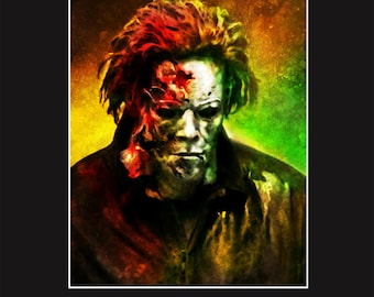 Michael Myers in Rob Zombie's Halloween 2 11X14 Signed Print