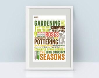 I love...Gardening