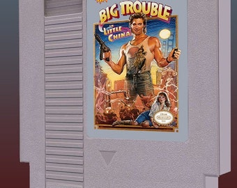 Big Trouble in Little China - Cart Version (Nintendo NES)