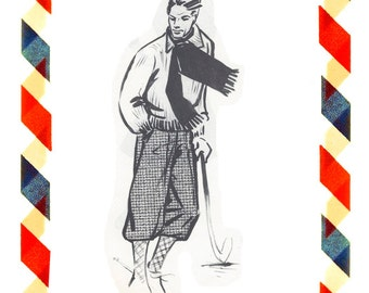 Vintage Sewing Pattern in any size including plus size 1949 PDF Instant Download Pattern no 99