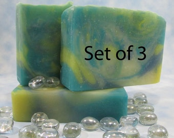 Essential Oil Fragrance Bar Soap, Luxury Old Fashion Cold Process Soap, Soul Calming Gift for Stressed Mom, Bath Gift for Graduate