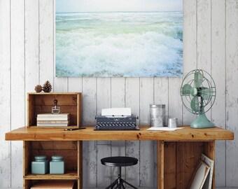 Crashing Waves / Beach Photography / Beach Decor / Florida / Beach Print